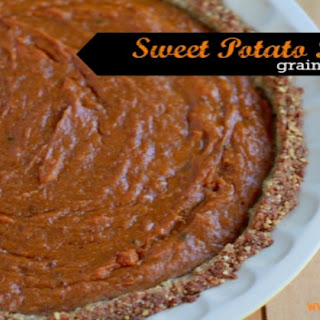 Sweet Potato Pie (grain and dairy free)