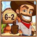Cowboy Math Survive icon