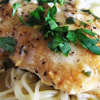 Slow Cooker Lemon Garlic Chicken II