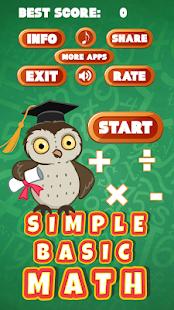 Simple Basic Math - náhled