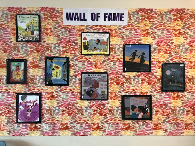 """An Evolving """"Wall of Fame""""  – Our Very Own #OwnVoices"""