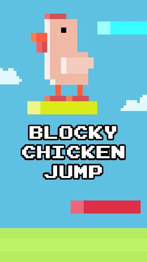 Blocky Chicken Jump - Endless