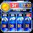 Weather report app& widget Icône