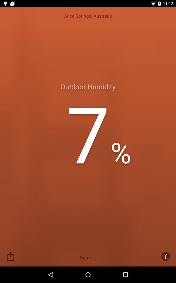 Humidity- screenshot