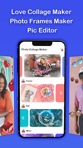 Love Collage Maker & Pic Editor screenshot 3