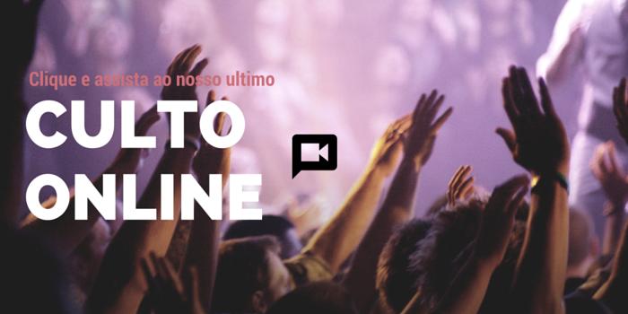 Culto Online 27/05/2018