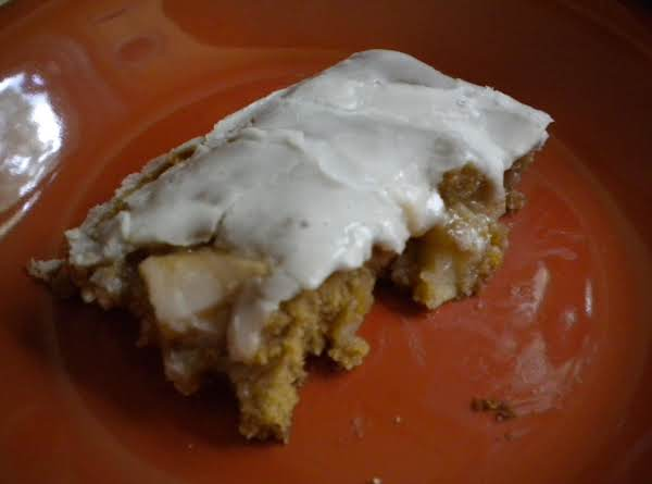 Spicy Apple Bars