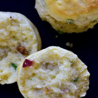Bacon Green Onion Biscuits.