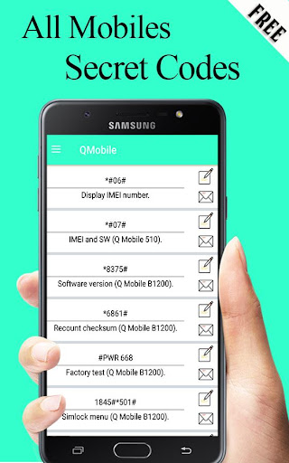 Download All Mobiles Secret Codes 2019 on PC & Mac with