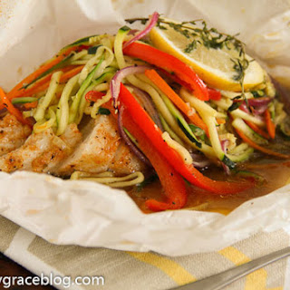 Chilean Sea Bass en Papillote.