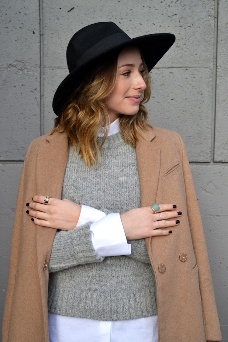 grey-sweater-white-zara-blouse-camel-coat-winter-must-have-fedora-hat-black-jeans-top-vancouver-fashion-and-style-blog-ombre-hair-booties5.jpg