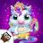 My Baby Unicorn - Virtual Pony Pet Care & Dress Up logo