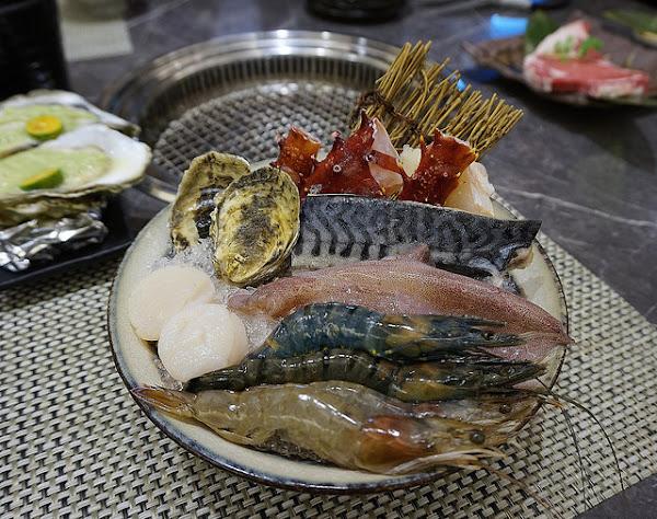 原月日式頂級帝王蟹燒烤吃到飽 ♥ 專人桌邊燒烤服務 ♥