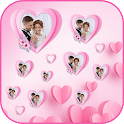 Crazy Magicly Love Heart Slideshow Live Wallpaper icon