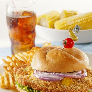Midwestern Pork Tenderloin Sandwich Recipe