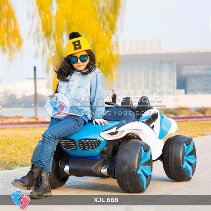 Xe ô tô điện địa hình cho bé XJL-688 20