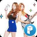 Tema Rock de la banda Girlsday icon