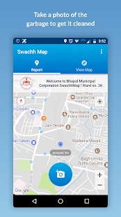 Swachh Map For Swachh Bharat- screenshot thumbnail