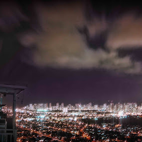 Honolulu City Lights by Adriano Sabagala - Novices Only Landscapes
