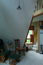 Photo: Cabin 7 downstairs view.  Day bed behind photographer.