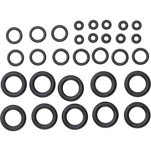 SRAM Pro Bleed Syringe O-ring Kit w/ Fitting O-ring, Coupling O-rings, Bleeding Edge O-rings, 10 Kits