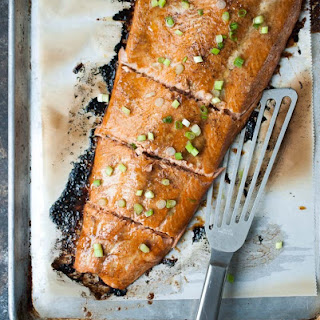 Butter Baked Salmon.