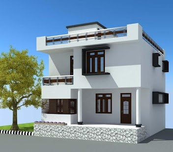 3d home exterior design screenshot thumbnail - Home Exterior Designer