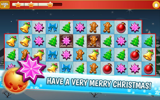 Christmas Crush Holiday Swapper Candy Match 3 Game 1.35 screenshots 15