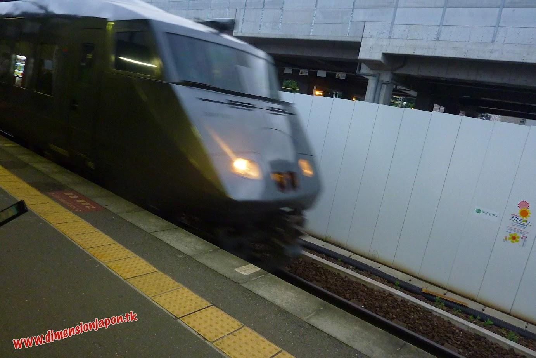 P1070071 Limited express Ariake  (Kumamoto) 15-07-2010