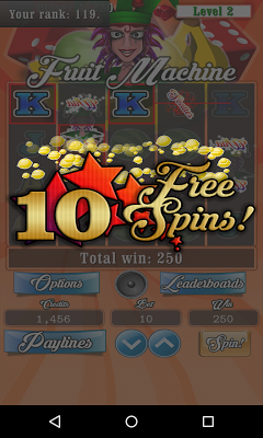 Fruit Machine Vegas Slots Free - screenshot