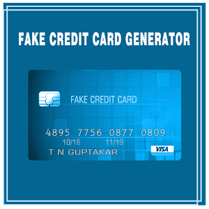 Fake Credit Card Maker Prank - Neueste Version Für Android