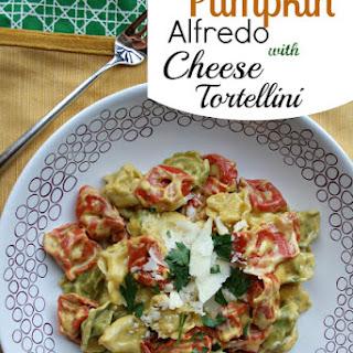 Pumpkin Alfredo with Cheese Tortellini Recipe
