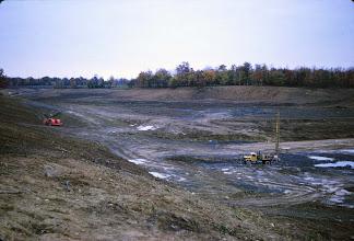 Photo: Construction progressing on Lake Roaming Rock