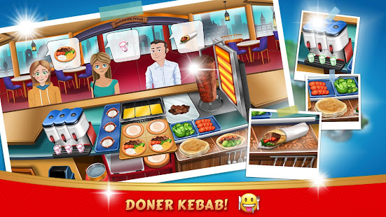 Kebab World - Cooking Game Chef v1.1 APK (Mod Unlocked) Full
