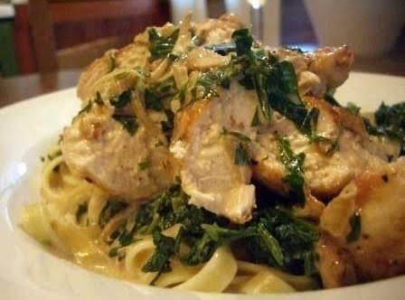 Chicken Florentine Style
