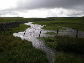 Photo: PW - The way between Ing Scar and Malham Tarn