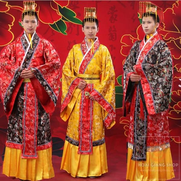 Trang phục vua chúa Trung Quốc đẹp, đa dạng mẫu mã