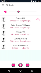 Burkina Faso Radio- screenshot thumbnail