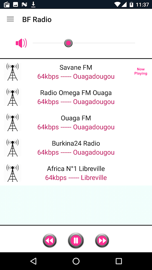 Burkina Faso Radio- screenshot