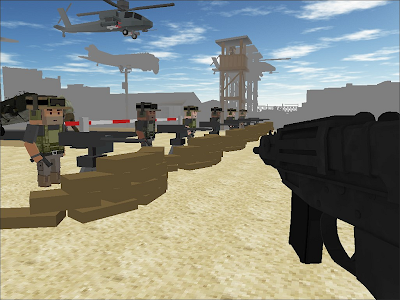 Zombie Shooting Tsunami screenshot 4