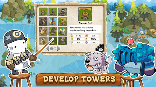 Tower Defense Realm King screenshots 1