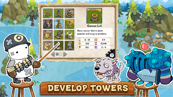 Defend The Tower: Castle Defence Element мод