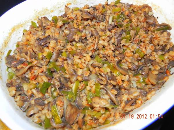 Barley And Mushroom Casserole Recipe