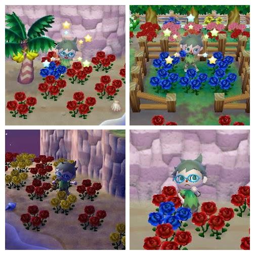とびだせどうぶつの森 攻略 青いバラ