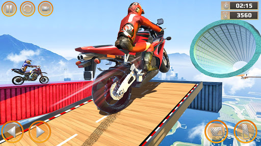 Mega Ramp Impossible Tracks Stunt Bike Rider Games 2.9 screenshots 15