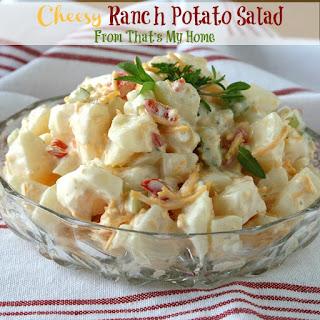 Cheesy Ranch Potato Salad