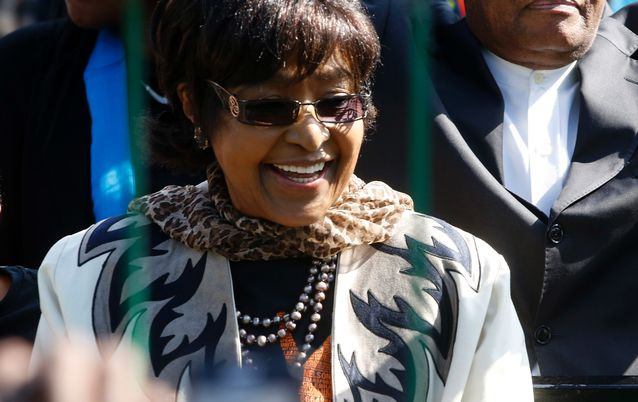 Winnie Madikizela-Mandela. Picture: REUTERS/MIKE HUTCHINGS