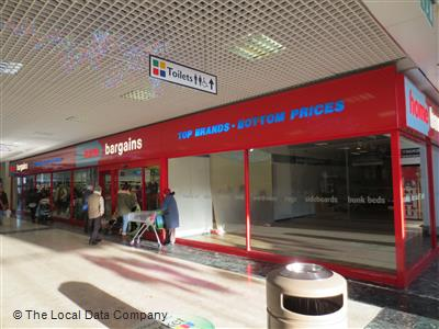 Home Bargains On The Concourse Discount Store In Town Centre