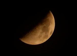 Photo: 今宵の月