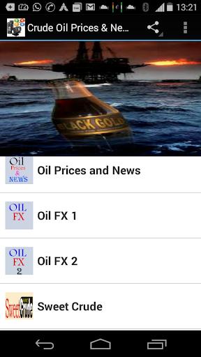 Crude Oil Prices News